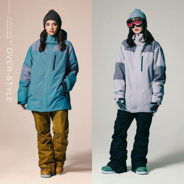 スノーボードウェア スキーウェア レディース スノボウェア ボードウェア 上下セット ジャケット パンツ IDD icepardal/アイスパーダル|ocstyle|06