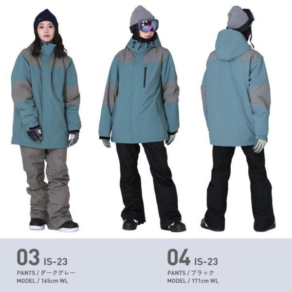 スノーボードウェア スキーウェア レディース スノボウェア ボードウェア 上下セット ジャケット パンツ IDD icepardal/アイスパーダル|ocstyle|08