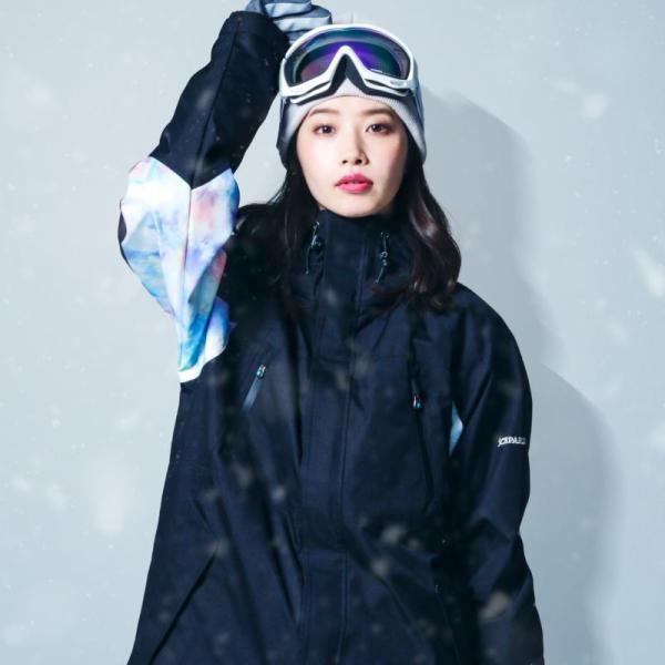新作予約スノーボードウェア スキーウェア レディース スノボウェア ボードウェア 上下セット ジャケット パンツ IX icepardal/アイスパーダル|ocstyle|06