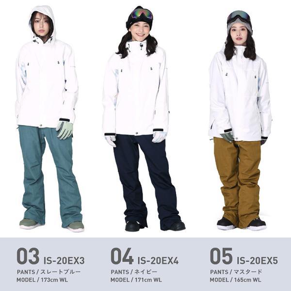 新作予約スノーボードウェア スキーウェア レディース スノボウェア ボードウェア 上下セット ジャケット パンツ IX icepardal/アイスパーダル|ocstyle|08