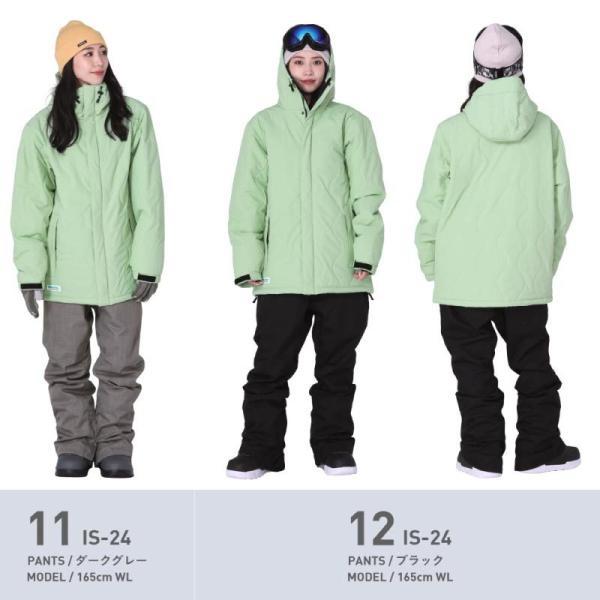 新作予約スノーボードウェア スキーウェア レディース スノボウェア ボードウェア 上下セット ジャケット パンツ ISC icepardal/アイスパーダル|ocstyle|12