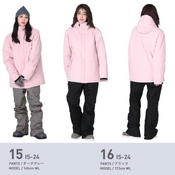 新作予約スノーボードウェア スキーウェア レディース スノボウェア ボードウェア 上下セット ジャケット パンツ ISC icepardal/アイスパーダル|ocstyle|14
