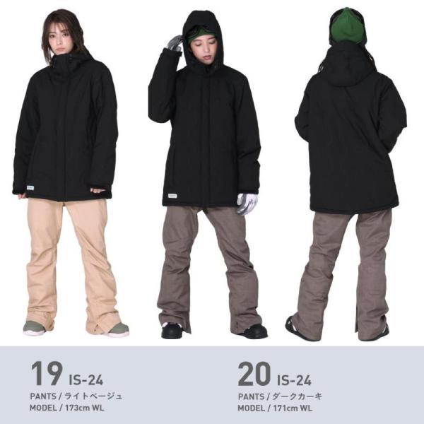 新作予約スノーボードウェア スキーウェア レディース スノボウェア ボードウェア 上下セット ジャケット パンツ ISC icepardal/アイスパーダル|ocstyle|16