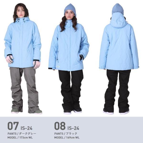 新作予約スノーボードウェア スキーウェア レディース スノボウェア ボードウェア 上下セット ジャケット パンツ ISC icepardal/アイスパーダル|ocstyle|10