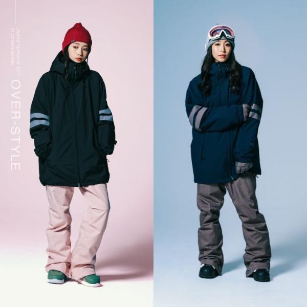 新作即納 スノーボードウェア スキーウェア レディース スノボウェア ボードウェア 上下セット ジャケット パンツ ISD icepardal/アイスパーダル|ocstyle|06