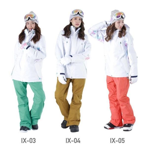 新作予約スノーボードウェア スキーウェア レディース スノボウェア ボードウェア 上下セット ジャケット パンツ ISB icepardal/アイスパーダル|ocstyle|09