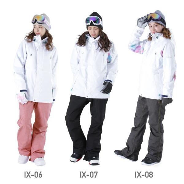 新作予約スノーボードウェア スキーウェア レディース スノボウェア ボードウェア 上下セット ジャケット パンツ ISB icepardal/アイスパーダル|ocstyle|10