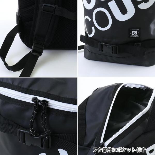DC SHOES/ディーシー メンズ 22L バックパック リュックサック デイパック ボックス型 バッグ かばん 5130E803|ocstyle|06