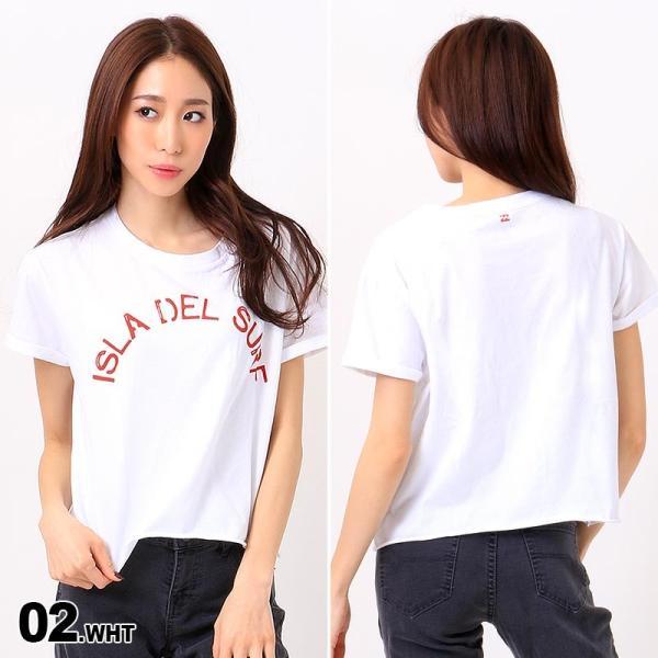 BILLABONG/ビラボン レディース 半袖 Tシャツ ティーシャツ ロゴ ホワイト 白色 プリント AH013-218|ocstyle|03