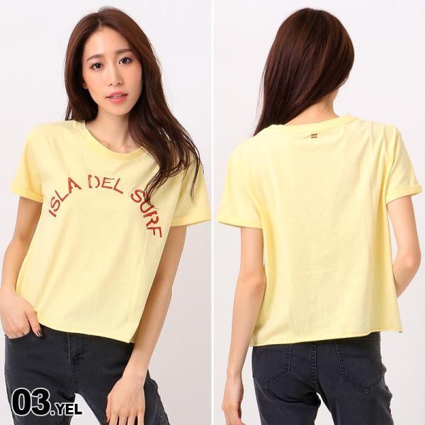 BILLABONG/ビラボン レディース 半袖 Tシャツ ティーシャツ ロゴ ホワイト 白色 プリント AH013-218|ocstyle|04