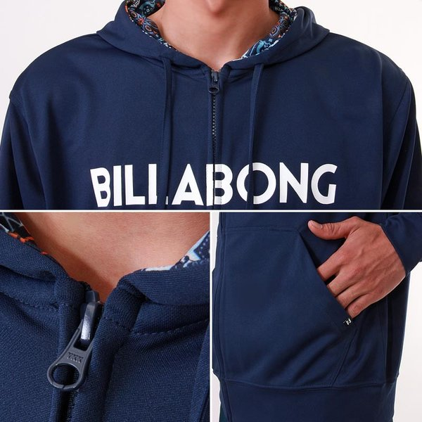 BILLABONG/ビラボン メンズ 長袖 ラッシュガード パーカー ラッシュパーカー フード付き ジップアップ 水着 みずぎ UVカット UPF50+ AH011-856|ocstyle|05