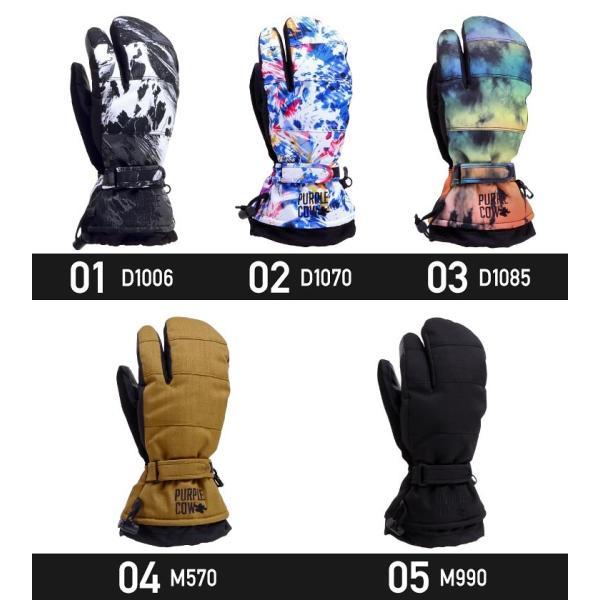 purplecow/パープルカウ メンズ&レディース スノーボード トリガー グローブ スノーグローブ スノボーグローブ 手袋 てぶくろ PCG-794|ocstyle|02