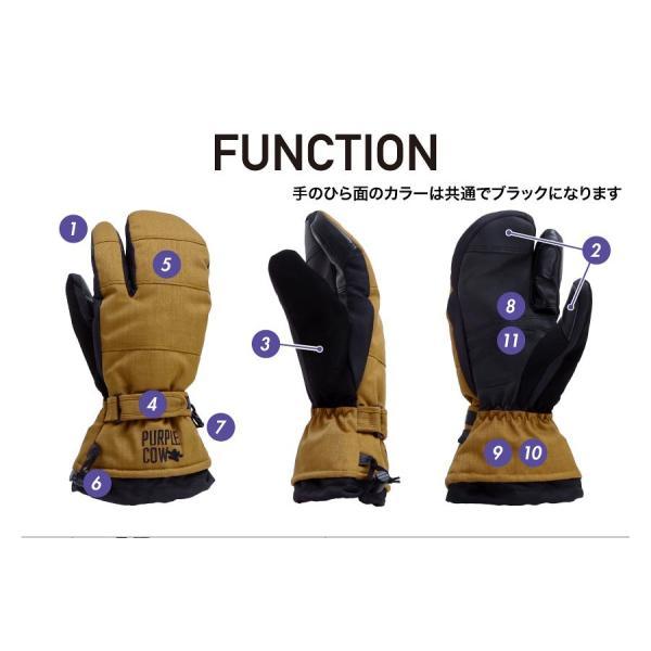 purplecow/パープルカウ メンズ&レディース スノーボード トリガー グローブ スノーグローブ スノボーグローブ 手袋 てぶくろ PCG-794|ocstyle|04