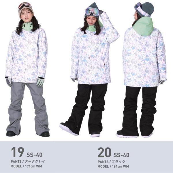 スノーボードウェア スキーウェア レディース スノボウェア ボードウェア 上下セット ジャケット パンツ SSA ScoLar/スカラー|ocstyle|14
