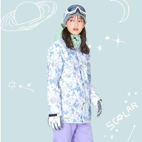 スノーボードウェア スキーウェア レディース スノボウェア ボードウェア 上下セット ジャケット パンツ SSA ScoLar/スカラー|ocstyle|04