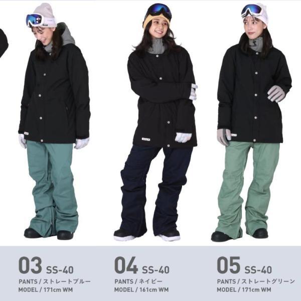 スノーボードウェア スキーウェア レディース スノボウェア ボードウェア 上下セット ジャケット パンツ SSA ScoLar/スカラー|ocstyle|08