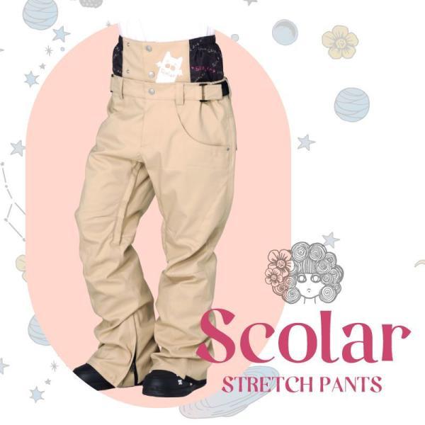 ScoLar/スカラー レディース スノーボード ウェア パンツ単品 スノーウェア スキーウェア 下 SCP-5310M ocstyle 03