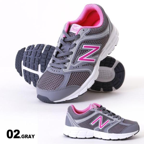 NEW BALANCE/ニューバランス レディース ランニング スニーカー シューズ 靴 くつ カジュアル ウォーキング マラソン ジョギング W460|ocstyle|03