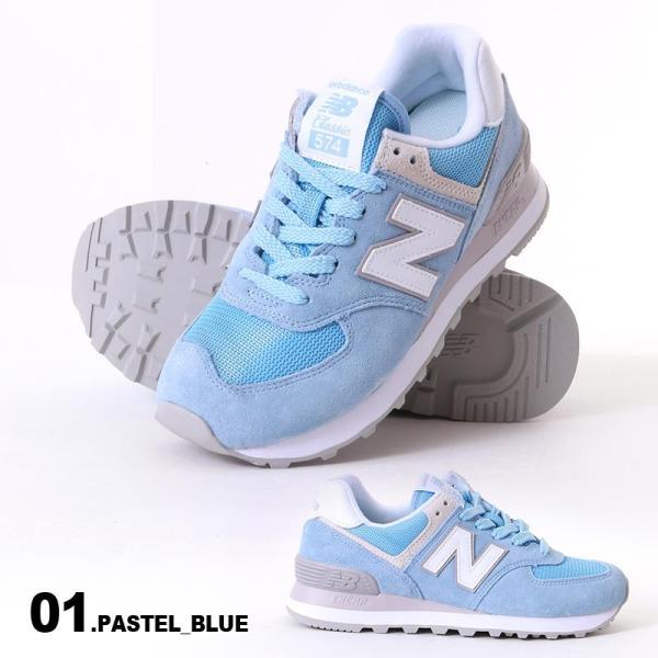 NEW BALANCE/ニューバランス レディース カジュアル スニーカー シューズ 靴 くつ ライフスタイル WL574|ocstyle|02
