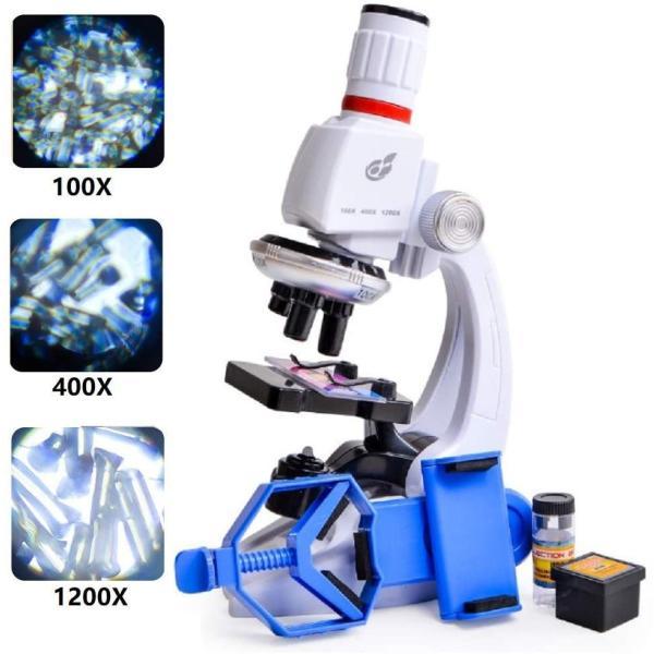  子供顕微鏡セット 初心者顕微鏡セット マイクロスコープ ミニ顕微鏡  プレゼント 小学生 中学生 …