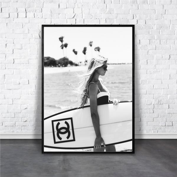 アートポスター/Aroma of Paris/選べる7サイズ&ポスター単品orフレームセット/Design:#004