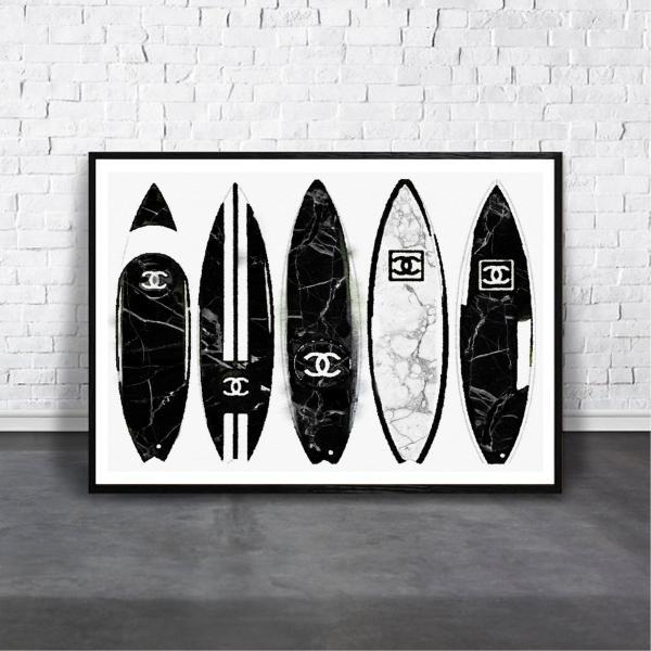 アートポスター/ブランド・北欧風・モダンアート/インテリア用/A4(210 x 297mm)/ポスターのみ/AP#030 octopus-goods01