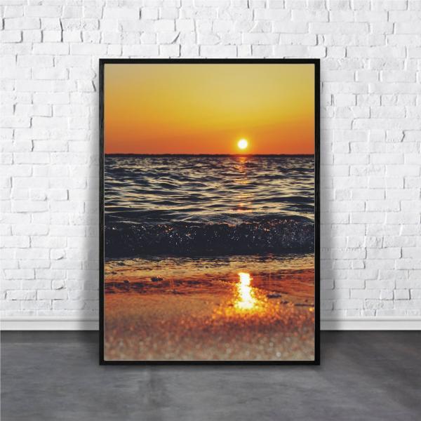 アートポスター/ブランド・北欧風・モダンアート/インテリア用/A4(210 x 297mm)/ポスターのみ/AP#064|octopus-goods01