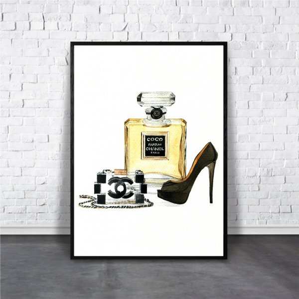 アートポスター/ブランド・北欧風・モダンアート/インテリア用/A4(210 x 297mm)/ポスターのみ/AP#111|octopus-goods01