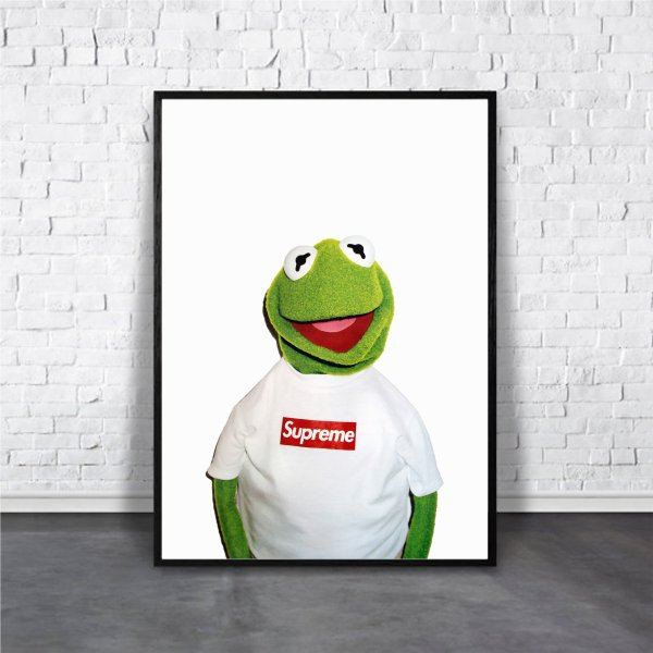 アートポスター/ブランド・北欧風・モダンアート/インテリア用/A4(210 x 297mm)/ポスターのみ/AP#125|octopus-goods01