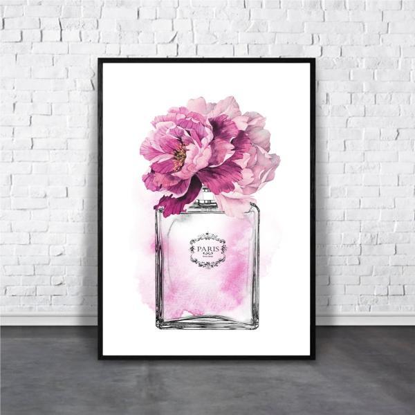 アートポスター/Aroma of Paris/選べる7サイズ&ポスター単品orフレームセット/Design:#140|octopus-goods01