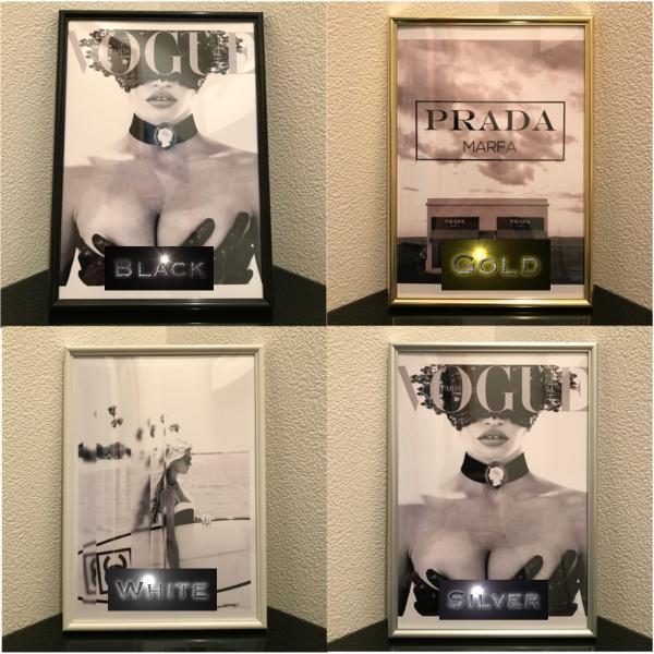 【A4サイズフレームセットへ変更】アートポスター/A4(210 x 297mm)/4色から選べるフレームセット octopus-goods01 03