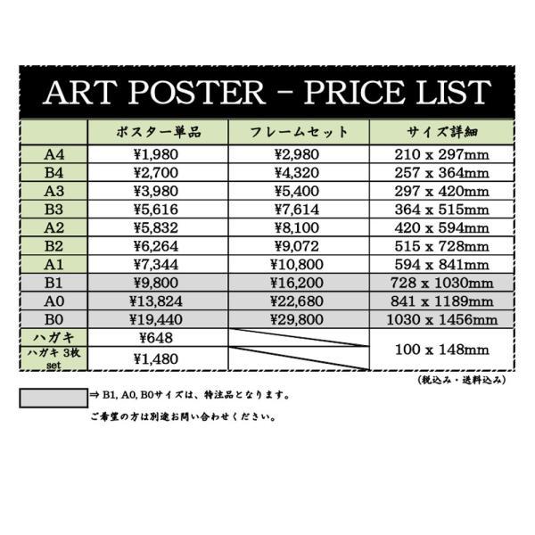 【A4サイズフレームセットへ変更】アートポスター/A4(210 x 297mm)/4色から選べるフレームセット octopus-goods01 04