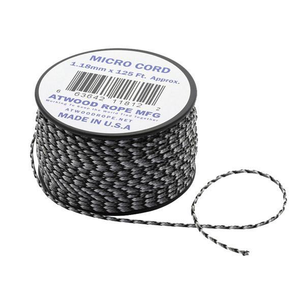 Atwoodrope アトウッドロープ マイクロコード/アーバンカモ 44003 カモフラージュ テント部品 アクセサリー アウトドア 釣り 旅行用品 自在金具