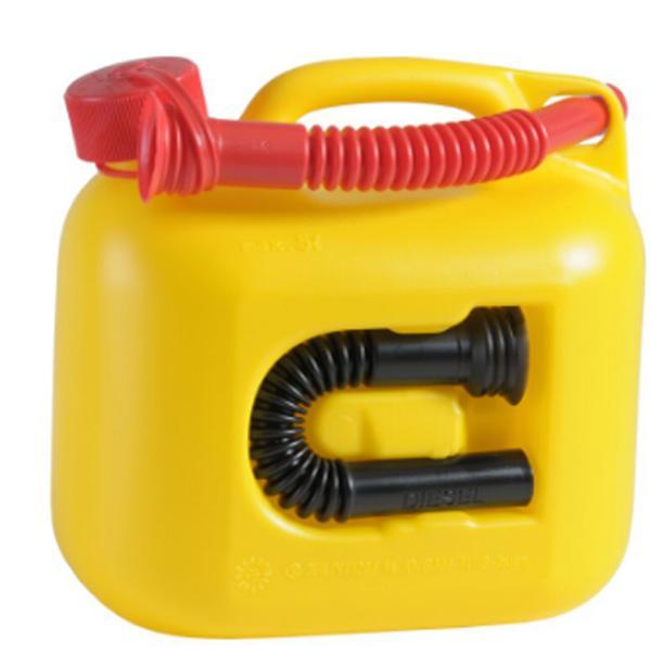 hunersdorff ヒューナースドルフ Fuel Can PREMIUMI 5L yellow 800600 イエロー ホワイトガソリン アウトドア 釣り 旅行用品 キャンプ 燃料タンク