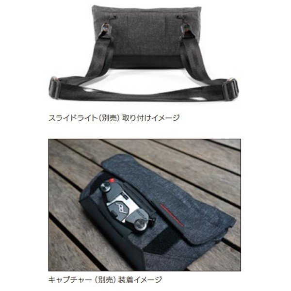 Peakdesign ピークデザイン フィールドポーチ/ジェットブラック BP-BK-1 カメラバッグ ファッション メンズファッション メンズバッグ