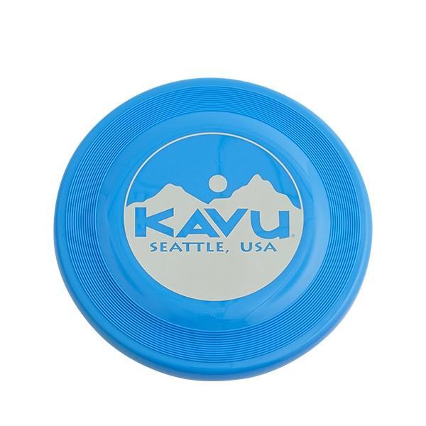 KAVU カブー ディスク/Blue 19820326 ブルー スポーツ ストリート系スポーツ フライングディスク フライングディスク アウトドアギア