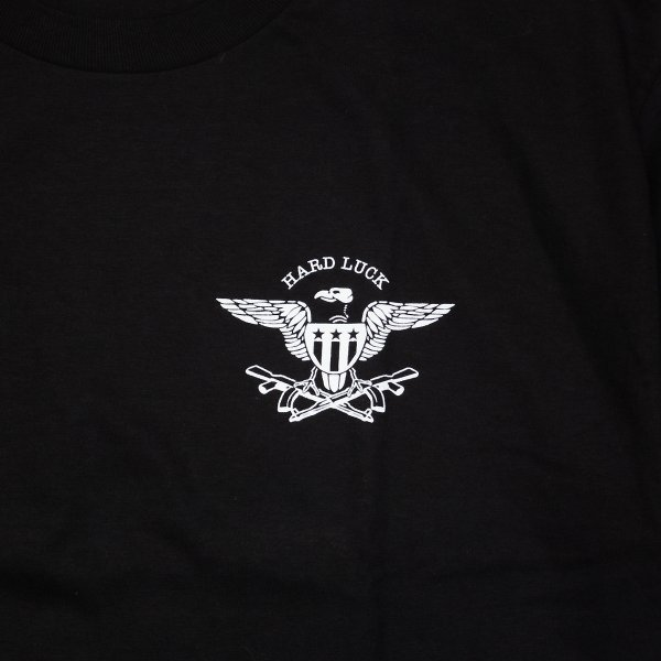 HARD LUCK (ハードラック Tシャツ) AK 47 TEE BLACK|oddball-skate-snow|03