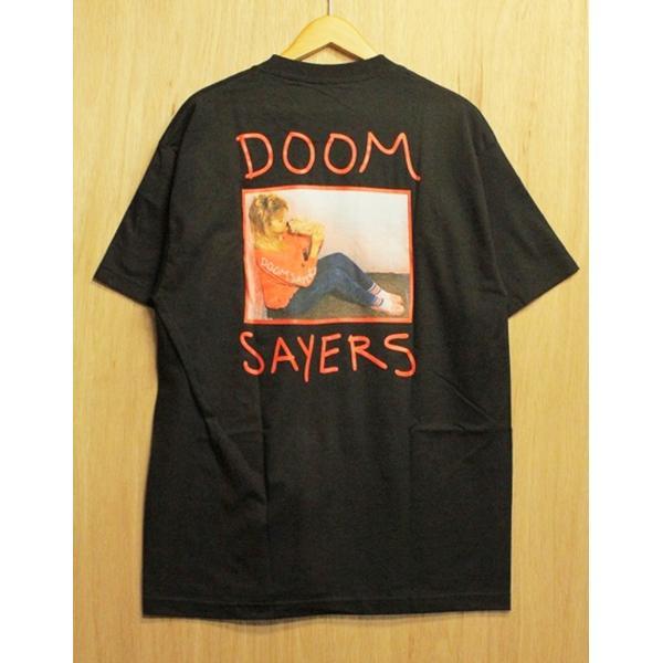 DOOM SAYERS (ドゥームセイヤーズ,ポケットTシャツ) BECKY POCKET TEE black|oddball-skate-snow|03
