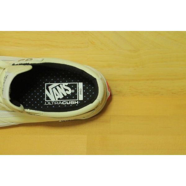 VANS PRO SKATE (バンズ スケート スニーカー ノニートルフィーヨ) TNT SG white/white|oddball-skate-snow|03