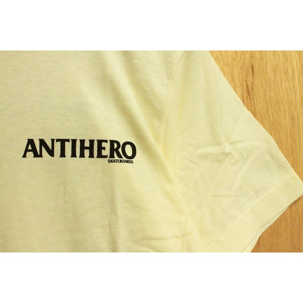 ANTI HERO (アンタイヒーロー,イーグル,Tシャツ) BACK EAGLE S/S TEE natural oddball-skate-snow 04