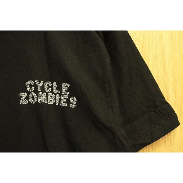 CYCLE ZOMBIES (サイクルゾンビーズ,Tシャツ) CAMP OUT S/S TEE black|oddball-skate-snow|04