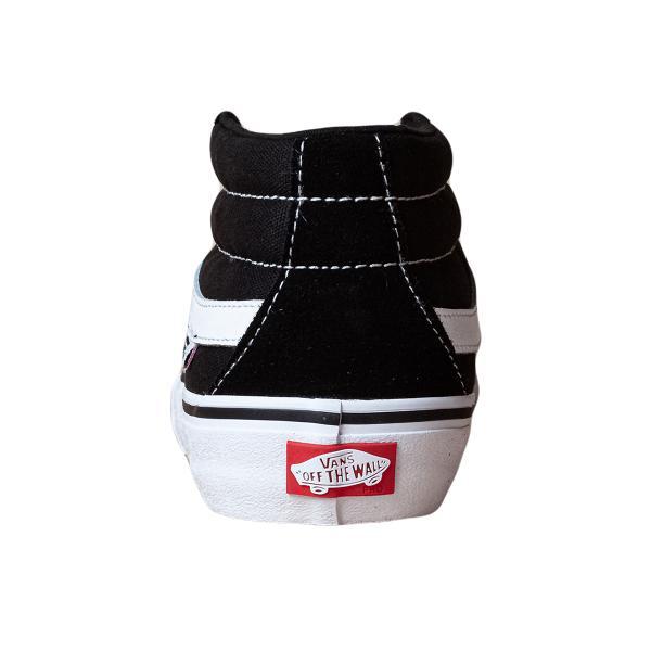 VANS バンズ スケートミッドプロ スニーカー SK8-MID PRO black/white|oddball-skate-snow|02