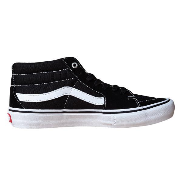 VANS バンズ スケートミッドプロ スニーカー SK8-MID PRO black/white|oddball-skate-snow|03