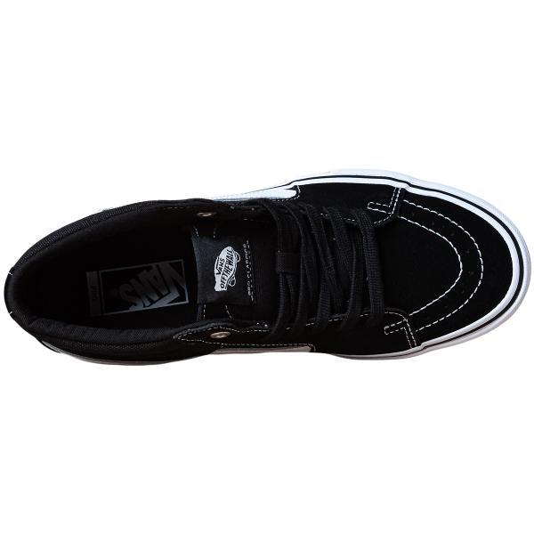 VANS バンズ スケートミッドプロ スニーカー SK8-MID PRO black/white|oddball-skate-snow|04