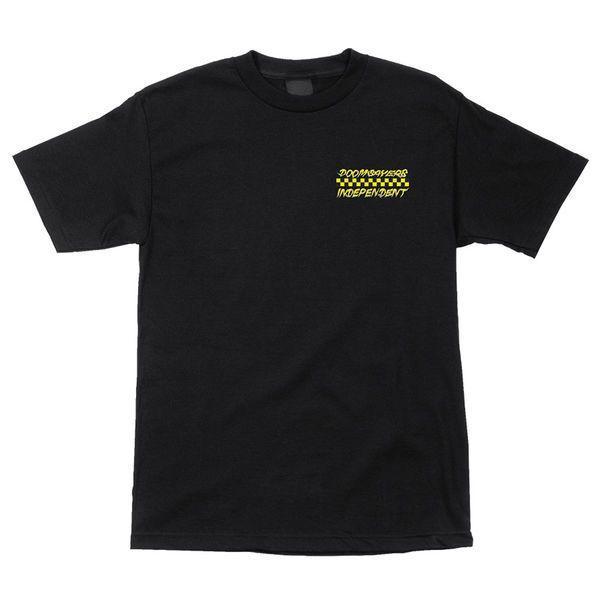 INDEPENDENT×DOOM SAYERS(インディー,ドゥームセイヤーズ,Tシャツ)Omar Salazar Doomsayers BLACK|oddball-skate-snow|02