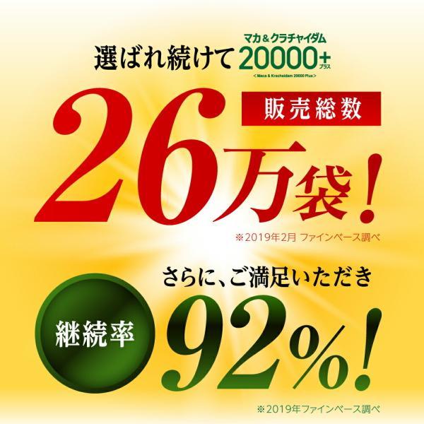 マカ サプリ マカ&クラチャイダム20000プラス 送料無料 ポイント5倍|odecomart|07
