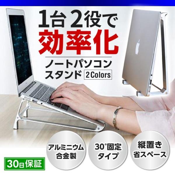 ノートパソコン縦置きスタンド台机上タブレットPCラップトップテレワーク在宅リモートグッズ