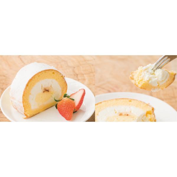 うっふロール ぷりん 1本 冷凍|oeuf-pudding2|04