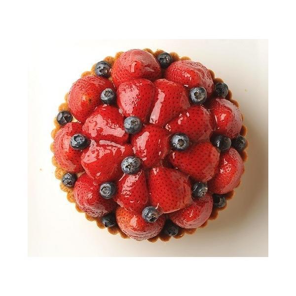 いちごとブルーベリーのタルト バースデーケーキ 5号 お誕生日プレゼント