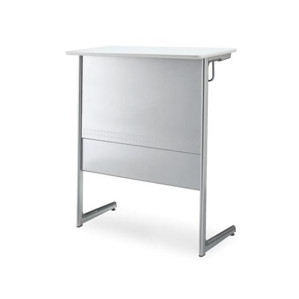 コクヨ   CAMPUS DESK 教卓 教育施設用家具 キャンパスデスク 教卓 スチール幕板 高さ1050MMタイプ 本体カラー SAW 天板